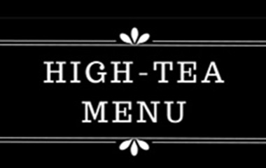 High-tea  | Luxus